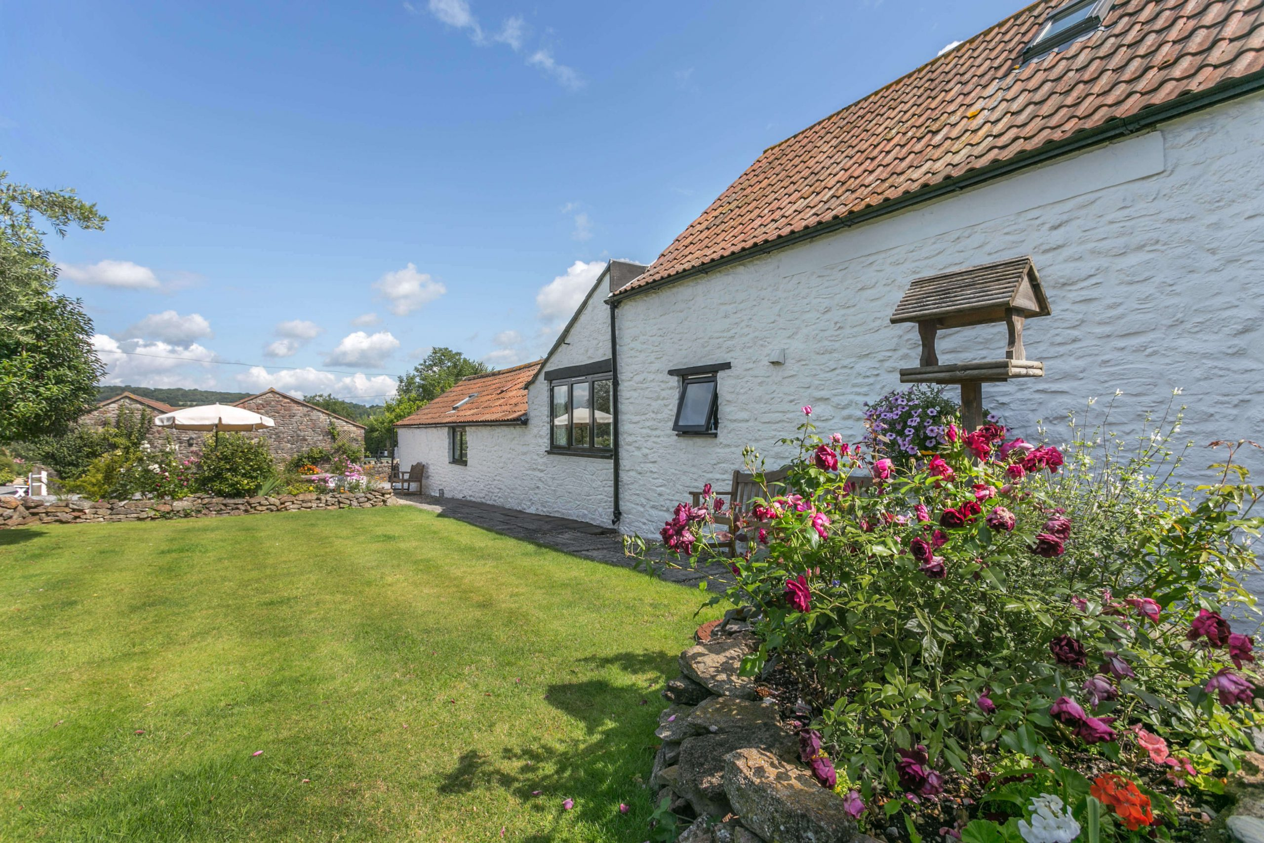 Granary Holiday Cottage in North Somerset Sleeps 6 Dogs Welcome