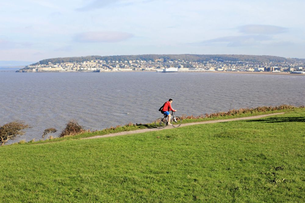 Brean Down next to Weston Super Mare and Home Farm Holiday Cottages Dogs and Cyclists welcome