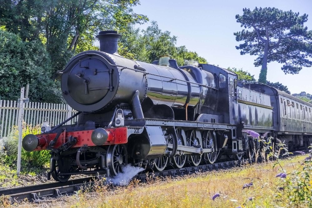 West Somerset Railway Steam Trains Holiday Cottage Somerset nearby dogs allowed
